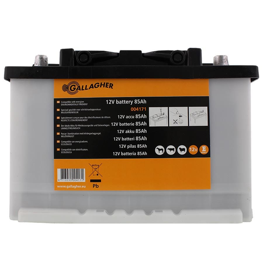 Batteri 12v Gallagher La 85ah