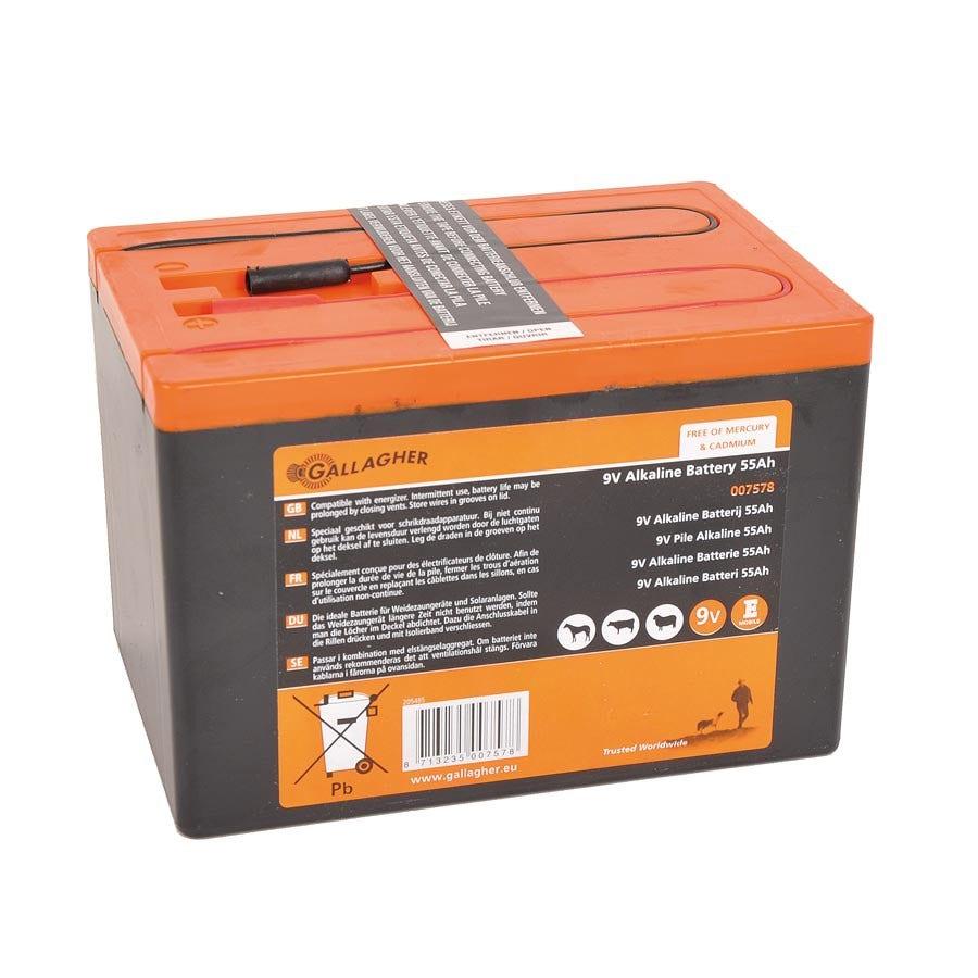 Batteripaket Gallagher 9v/55ah