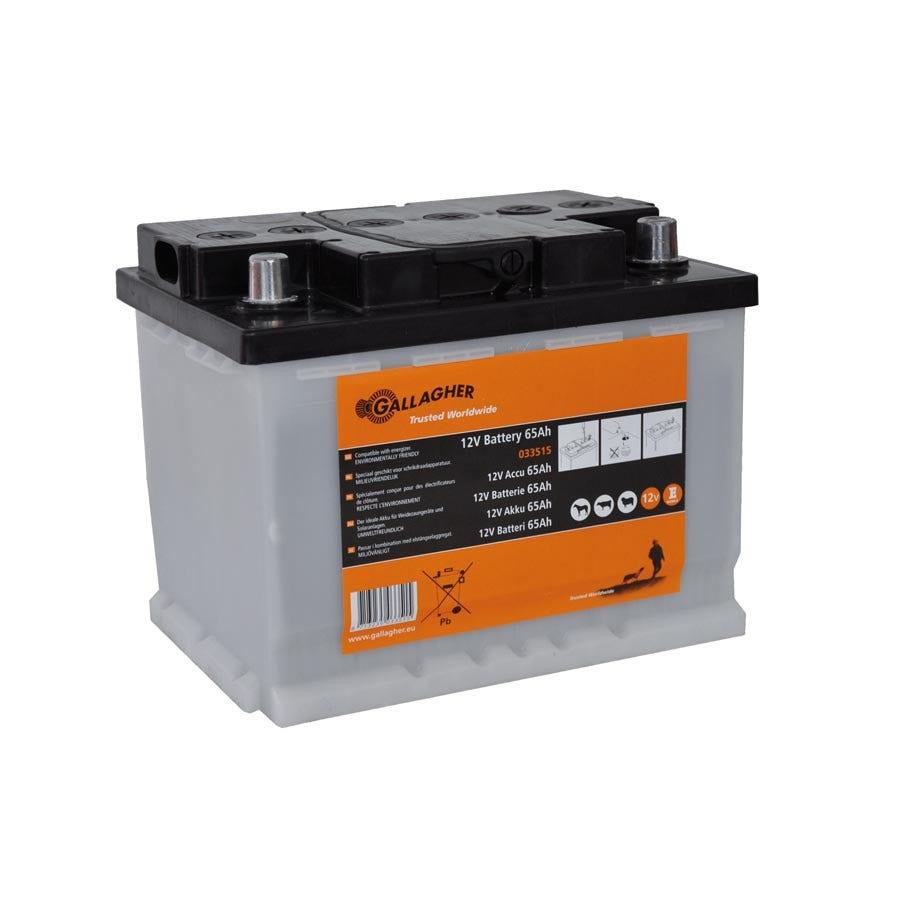Batteri Gallagher 12 V 65ah