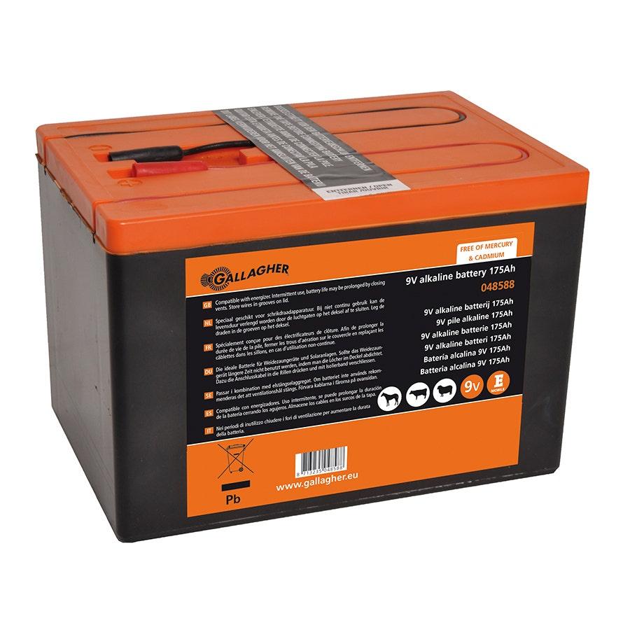 Batteripaket Gallagher 9v/175ah