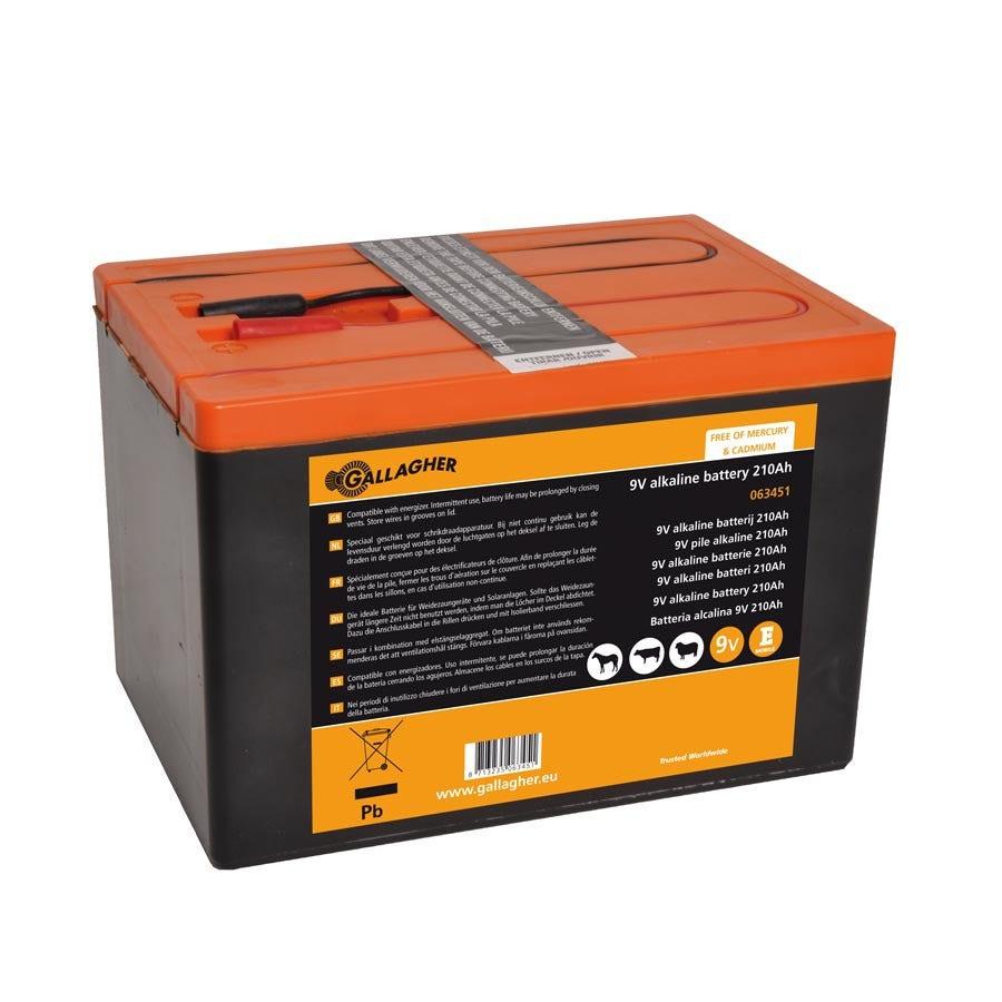 Batteripaket Gallagher 9v/210ah