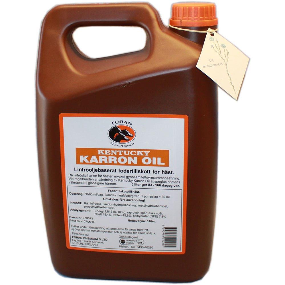 Kentucky Karron Oil Foran 5 liter - Foran Equine Products