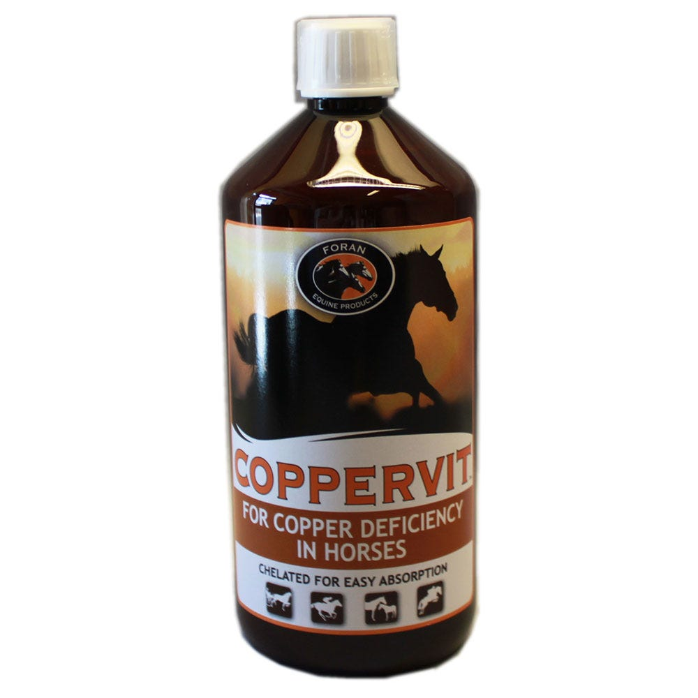 Coppervit Foran 1 liter - Foran Equine Products