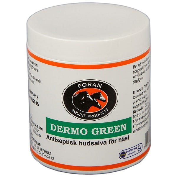Dermo Green Foran 300 g - Foran Equine Products