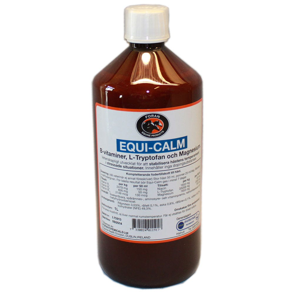 Equi-Calm Foran 1 lit - Foran Equine Products