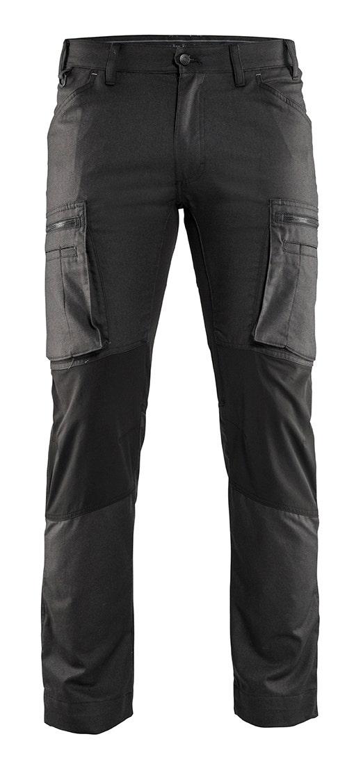 Arbetsbyxa Blåkläder Stretch Mörkgrå/svart 1459 C50