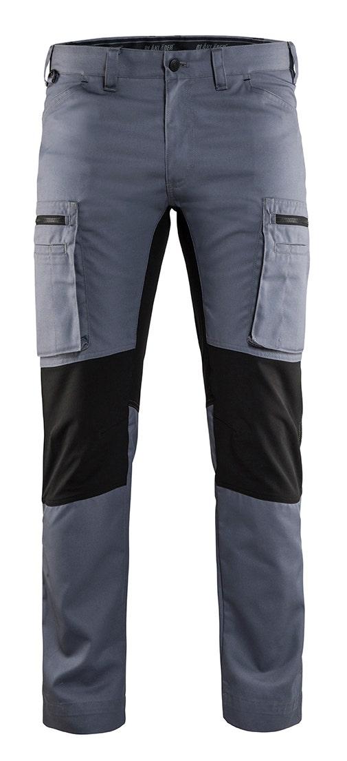 Arbetsbyxa Blåkläder Stretch Grå/Svart 1459 C62