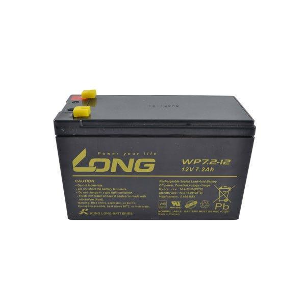 Batteri Till Viper S250, S500, Pel702 12 V, 7 Ah