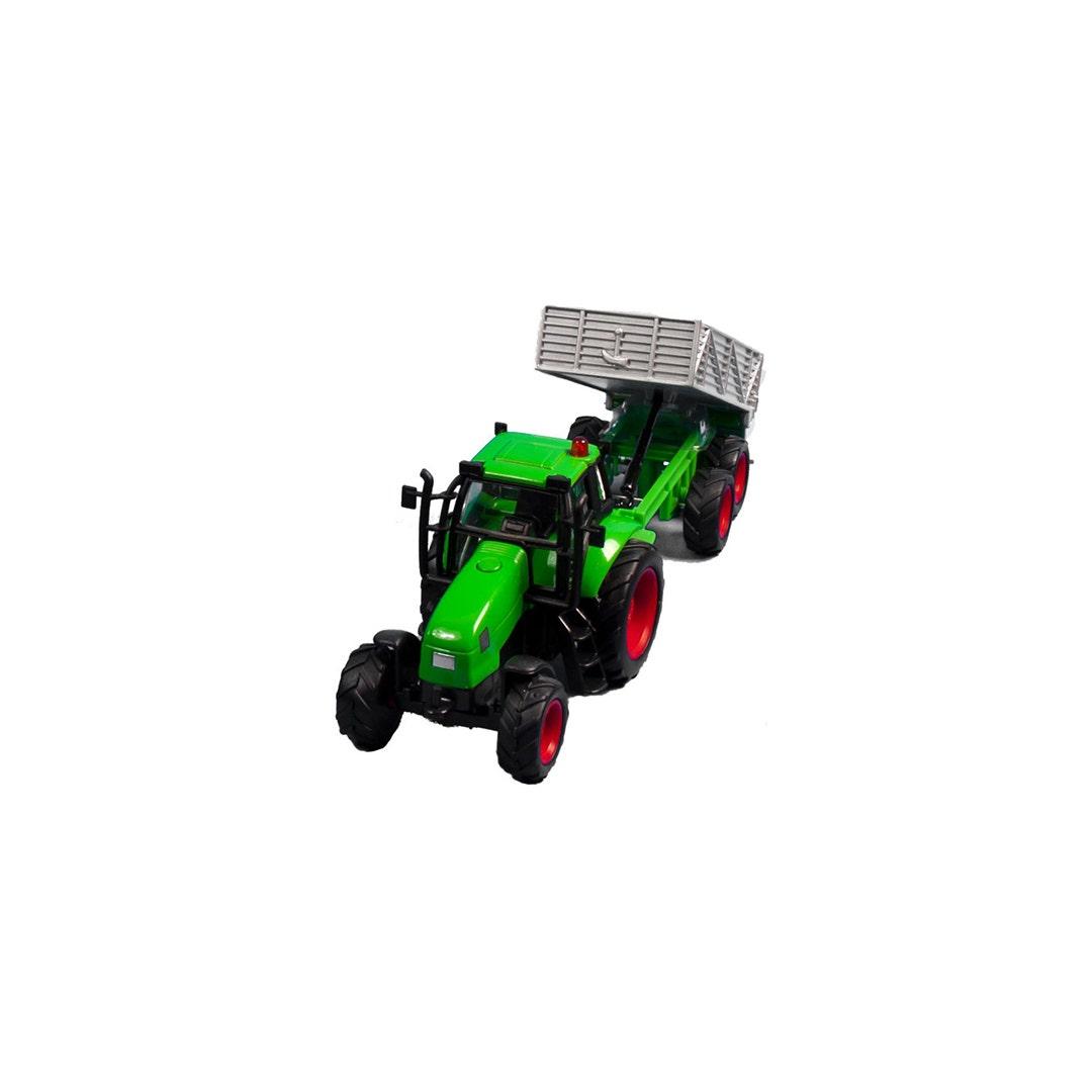 Traktor med släp Kids Globe