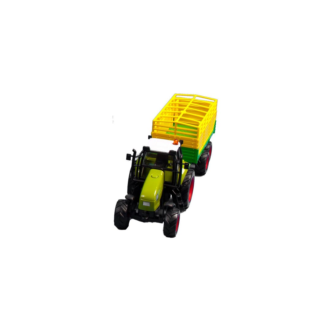 Traktor med boskapsvagn Kids Globe