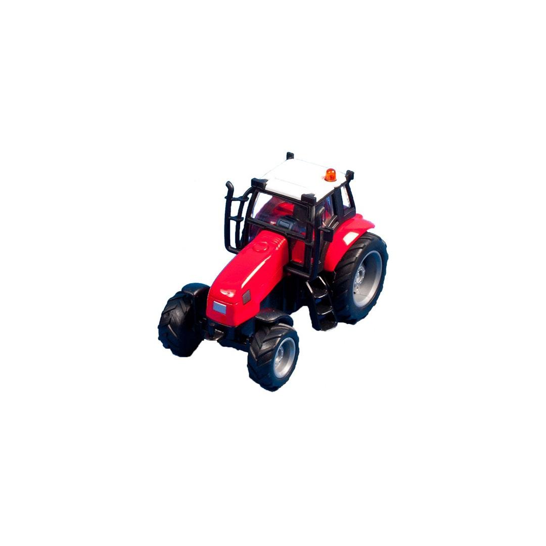 Traktor Kids Globe Röd