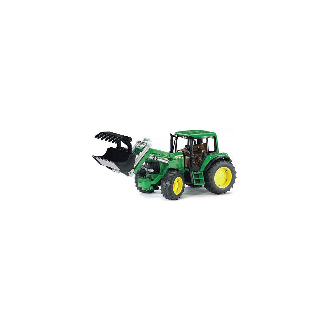 Traktor Bruder John Deere 6920 Med Frontlastare