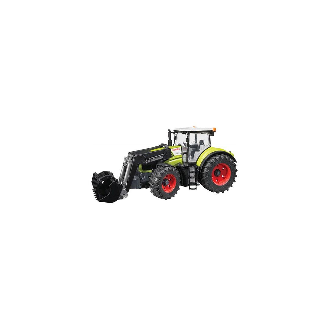 Traktor Bruder Claas 950 Med frontlastare 01:16