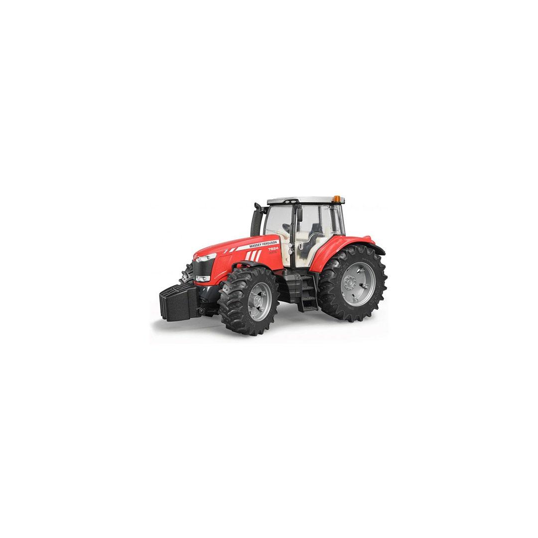 Traktor Bruder Massey Ferguson 7624 01:16