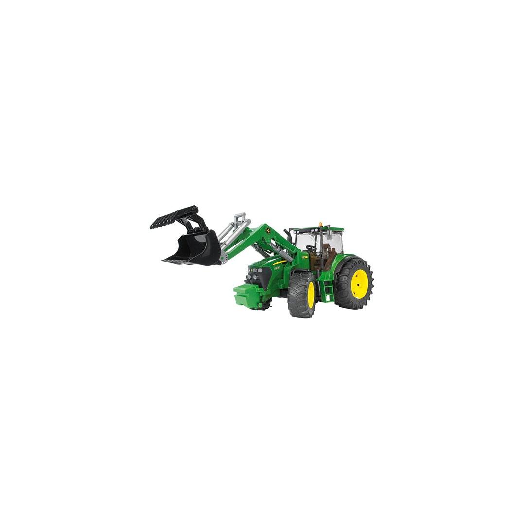 Traktor John Deere 7930 Med frontlastare Bruder