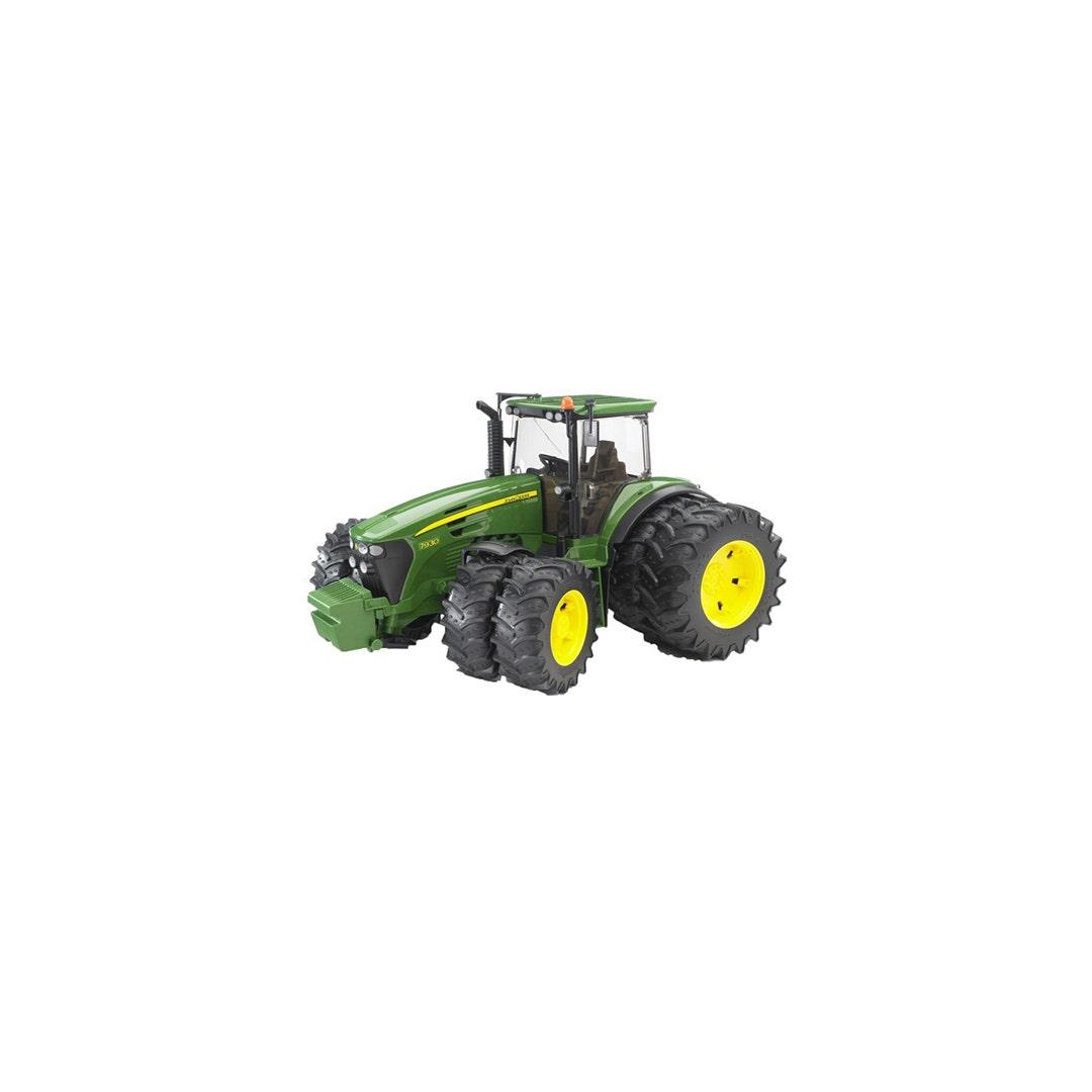 Traktor John Deere 7930 Med dubbelmontage Bruder