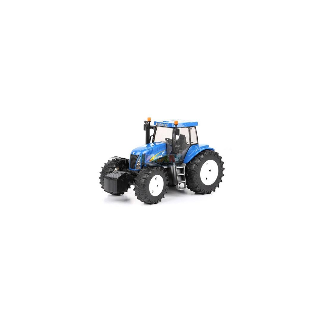 Traktor Bruder New Holland T7315 Frontlastare 01:16