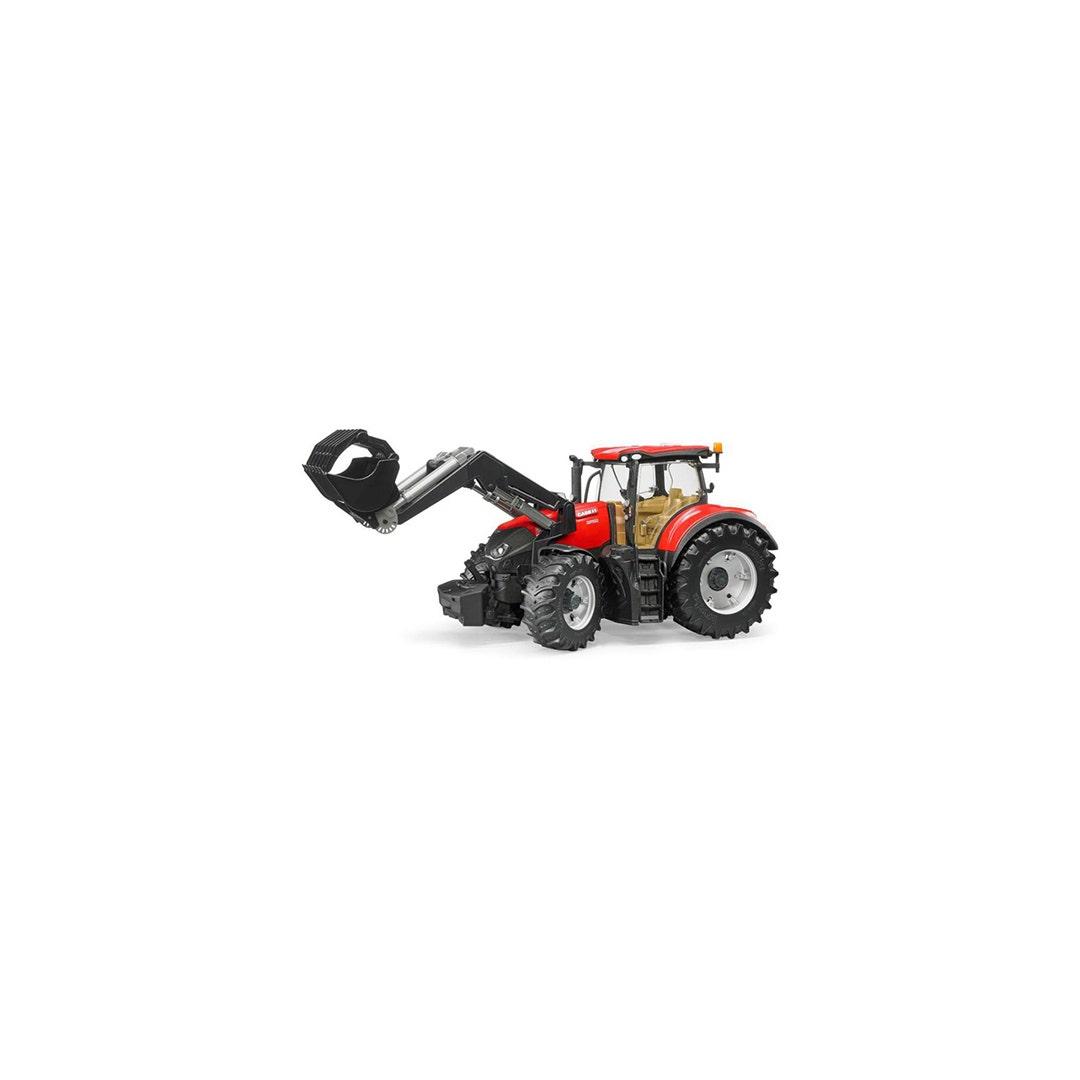 Traktor Case Ih Optum 300 Cvx Med frontlastare Bruder