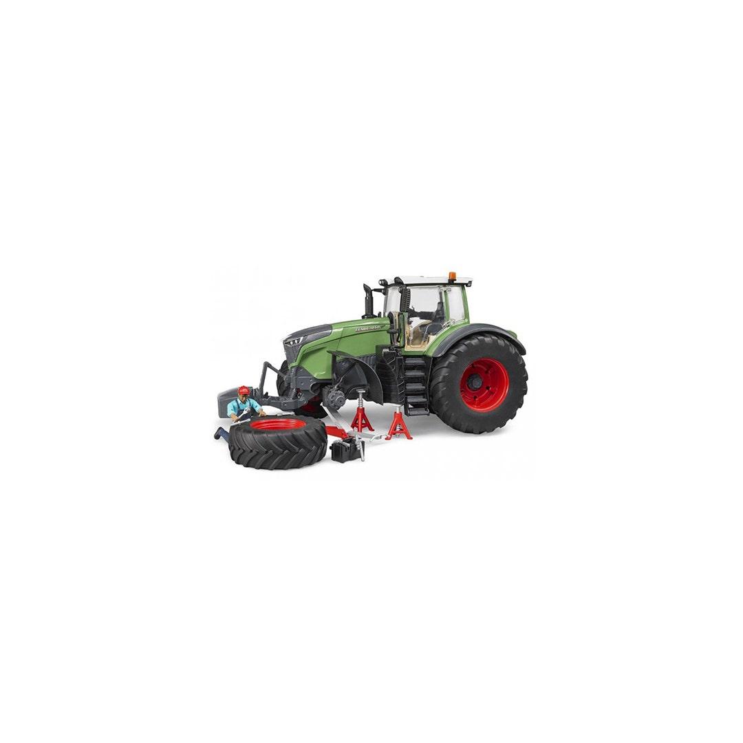 Traktor Fendt 1050 Med mekaniker och verktyg