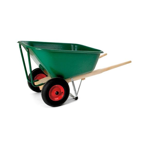 Skottkärra Hörby Bruk Ekeby 210-liters, 2 Luftgummihjul