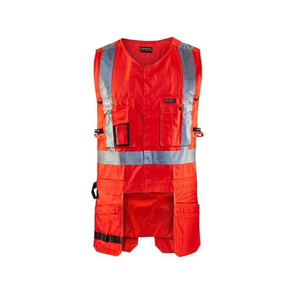 Varselväst Hantverk Blåkläder 5500 Röd Strl Xxl