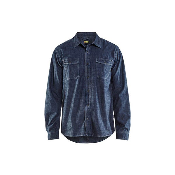 Denimskjorta Blåkläder 8900 Marinblå Strl L