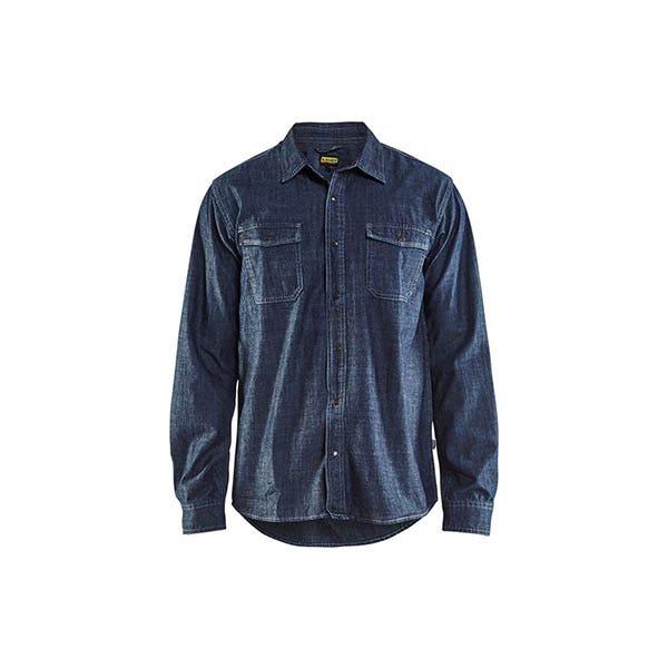 Denimskjorta Blåkläder 8900 Marinblå Strl Xxxl