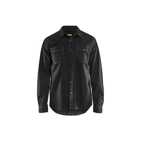 Denimskjorta Blåkläder 9900 Svart Strl M