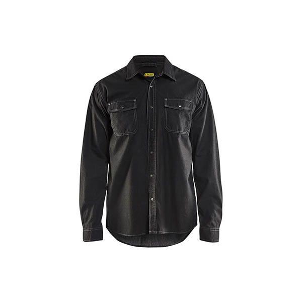 Denimskjorta Blåkläder 9900 Svart Strl Xs
