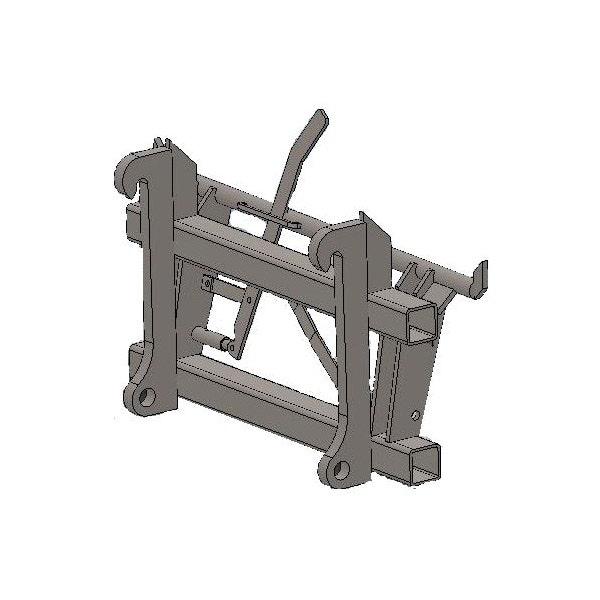 Adapter Bala Agri L20/L25-Euro Spaklåsning