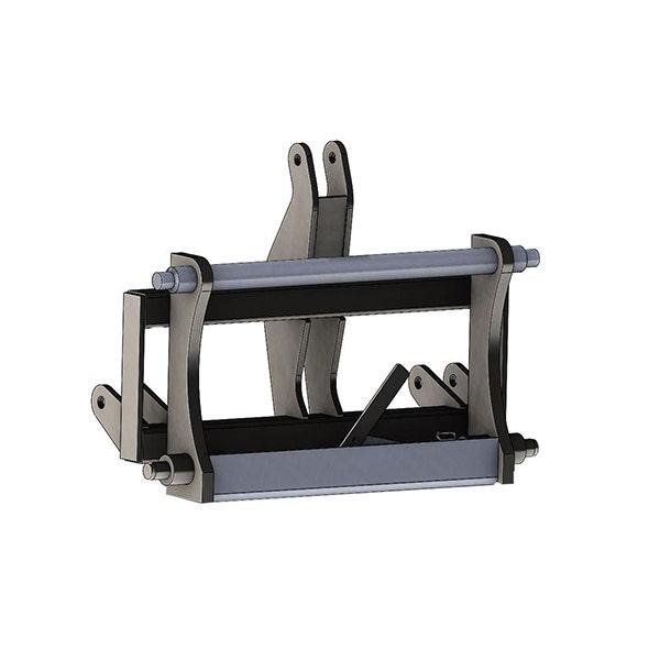Adapter Bala Agri 3 Punkt-L40/L45 Spaklåsning