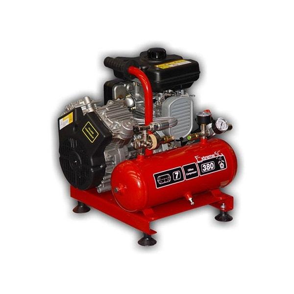 Kompressor Nardi Bensindriven 3 Hk 7 liter
