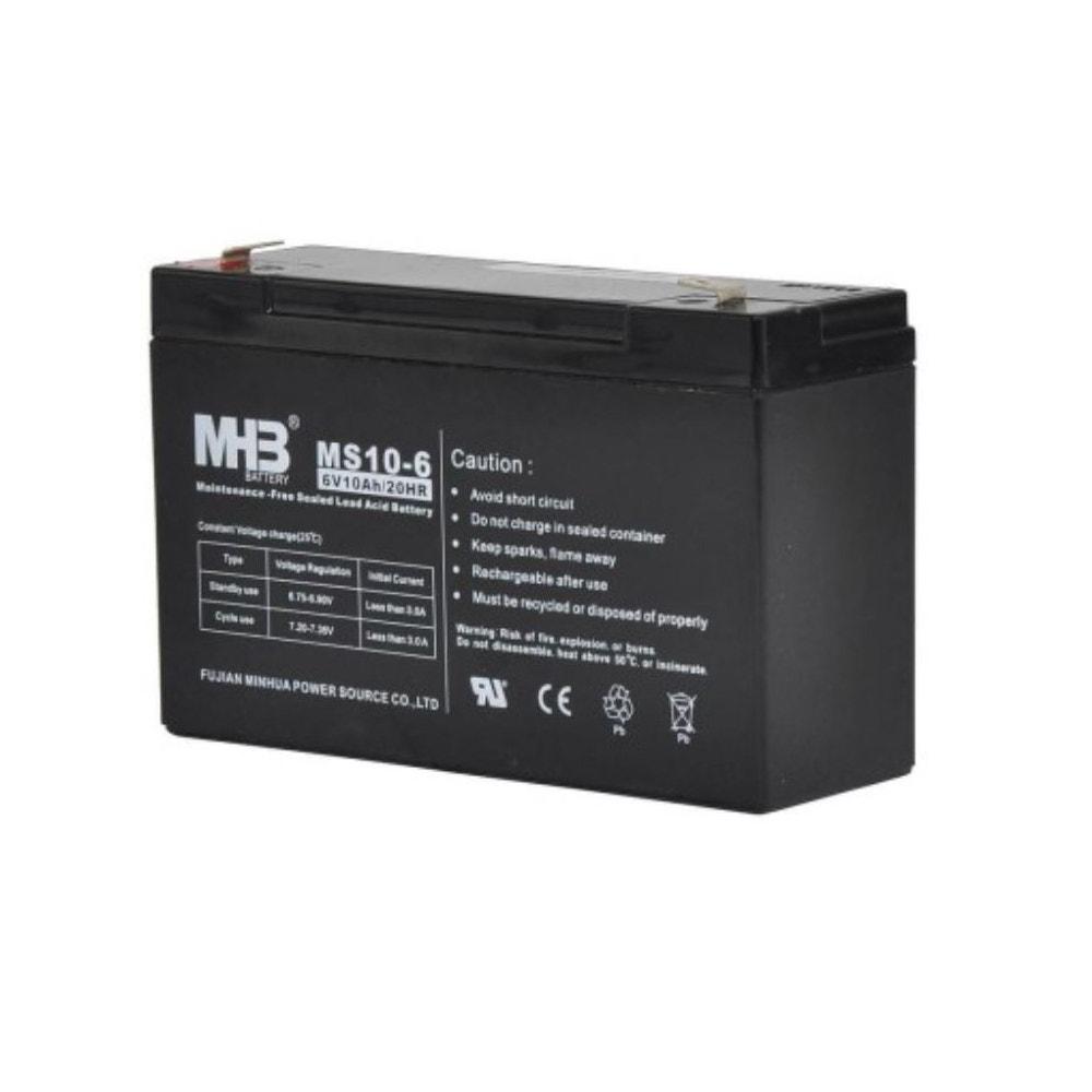 Batteri Gallagher 6 V 10 Ah Till S40