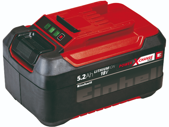 Batteri Einhell 18v 5,2ah, P-x-c Plus
