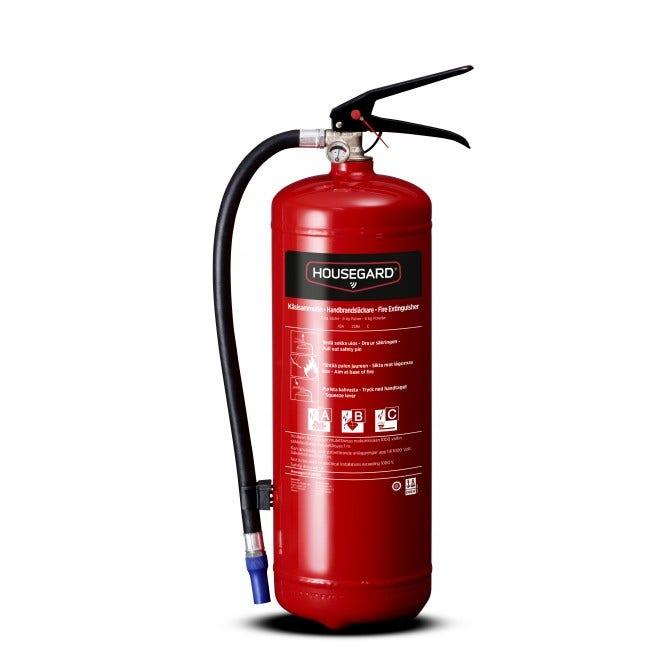 Brandsläckare Housegard Pe6geb Pulver 6 Kg 43a 233b C