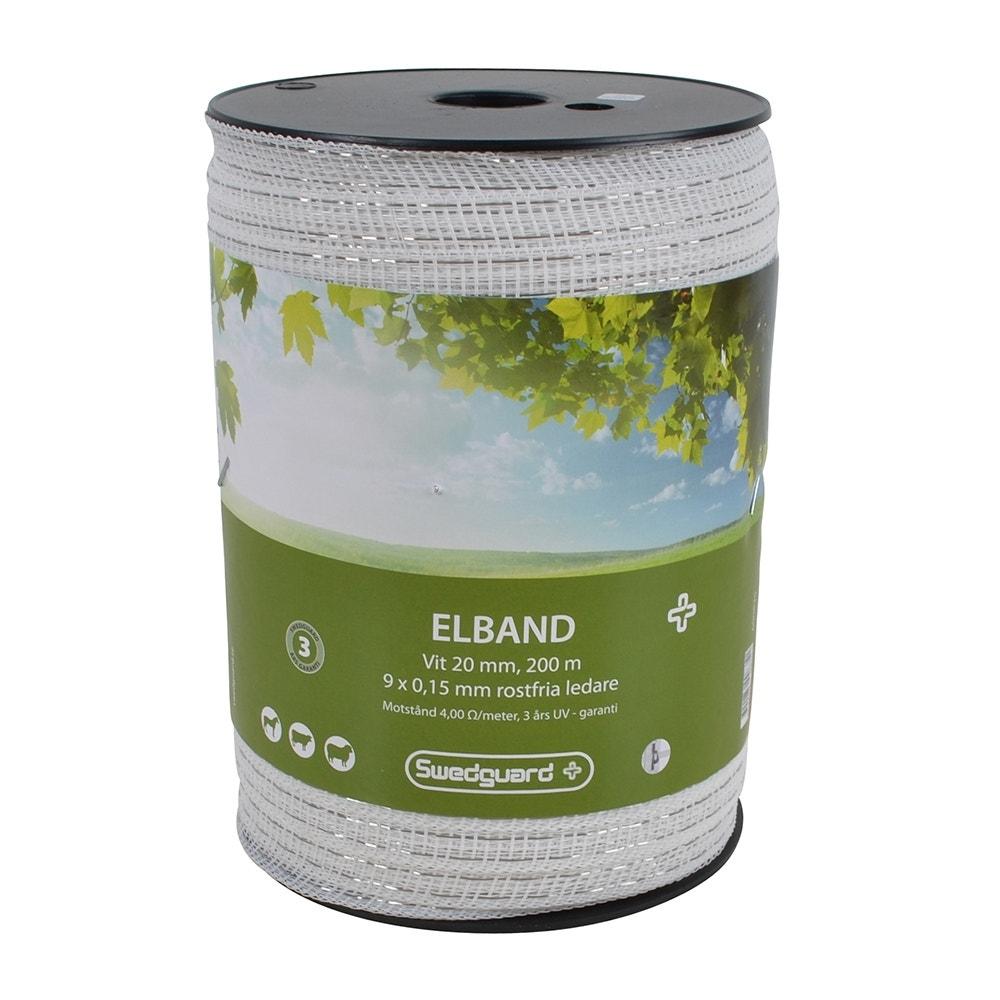 Elband Swedguard+ 20mm Vit 200 M 9x0,15