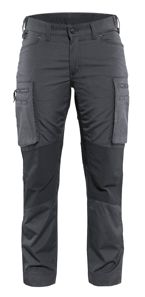 Arbetsbyxa Blåkläder Stretch Dam Mörkgrå/svart 7159 C50