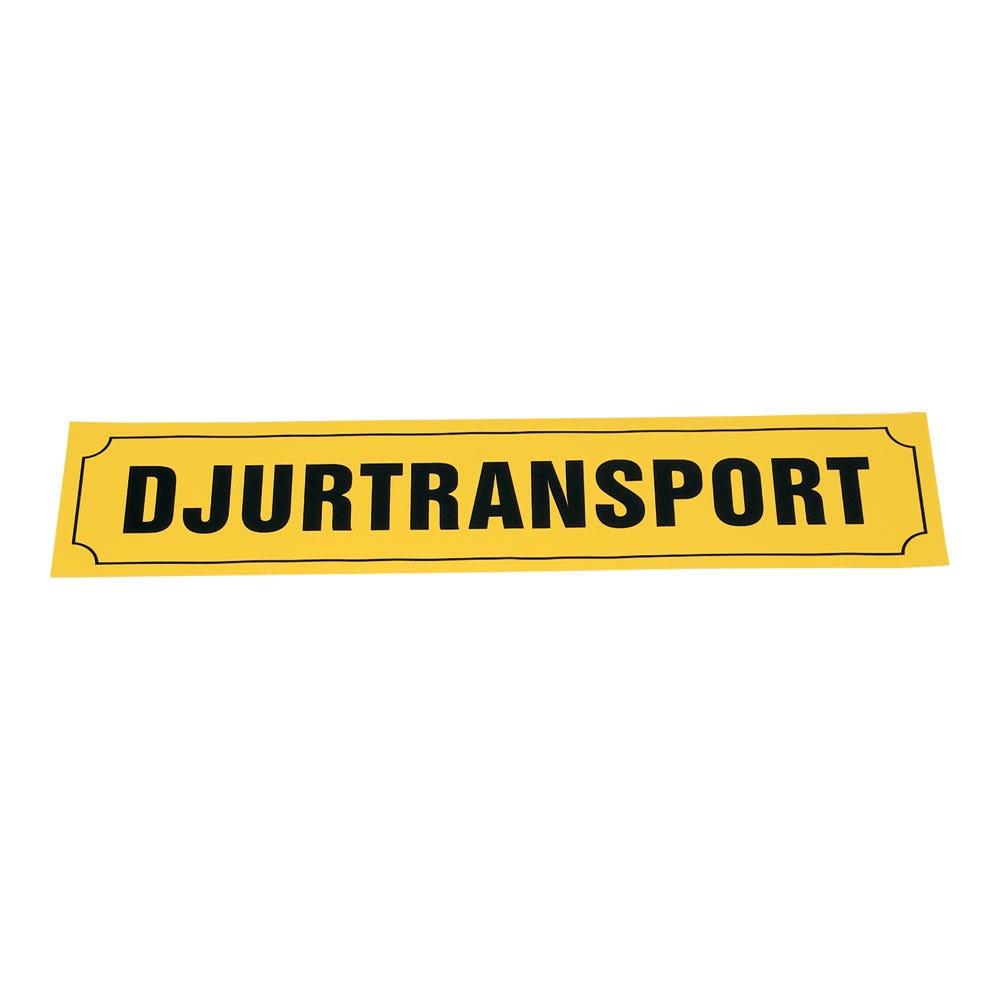 Djurtransportskylt 90x20 Cm Stor