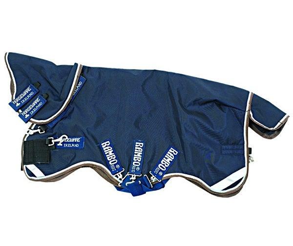Vintertäcke Horseware Rambo Duo 125 cm Blå - Horseware