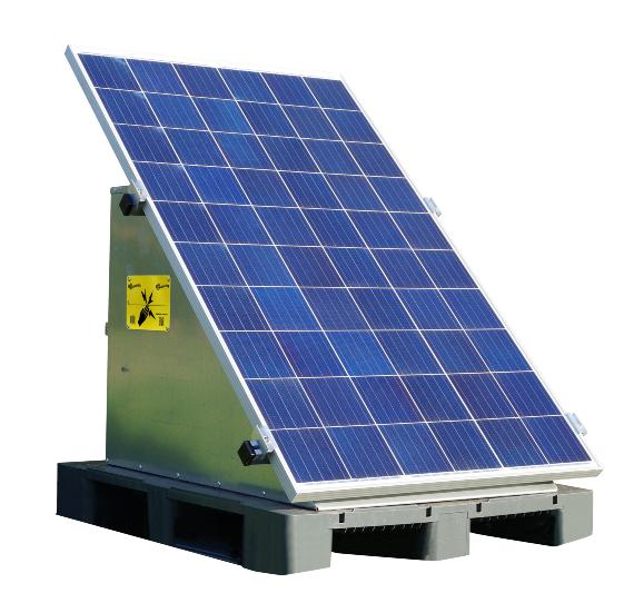 Elstängselaggregat Gallagher, Solar Powerstation Mbs2800i