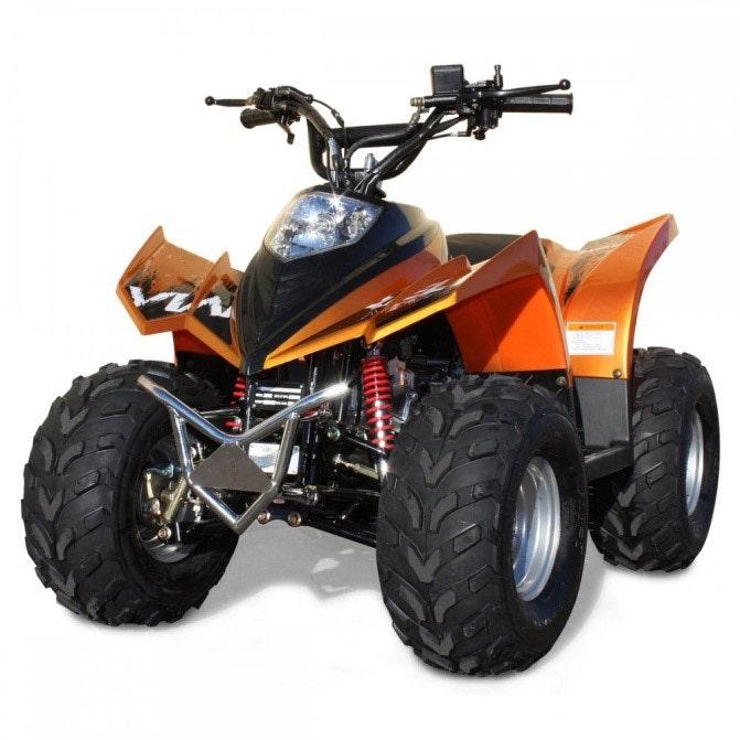 Atv Fyrhjuling 90cc Ten7 Orange-metallic 7