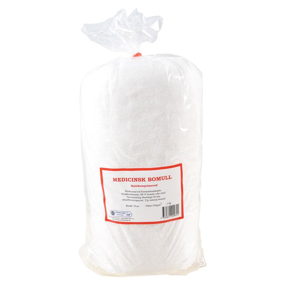 Bomull Halvkomprimerad 1kg