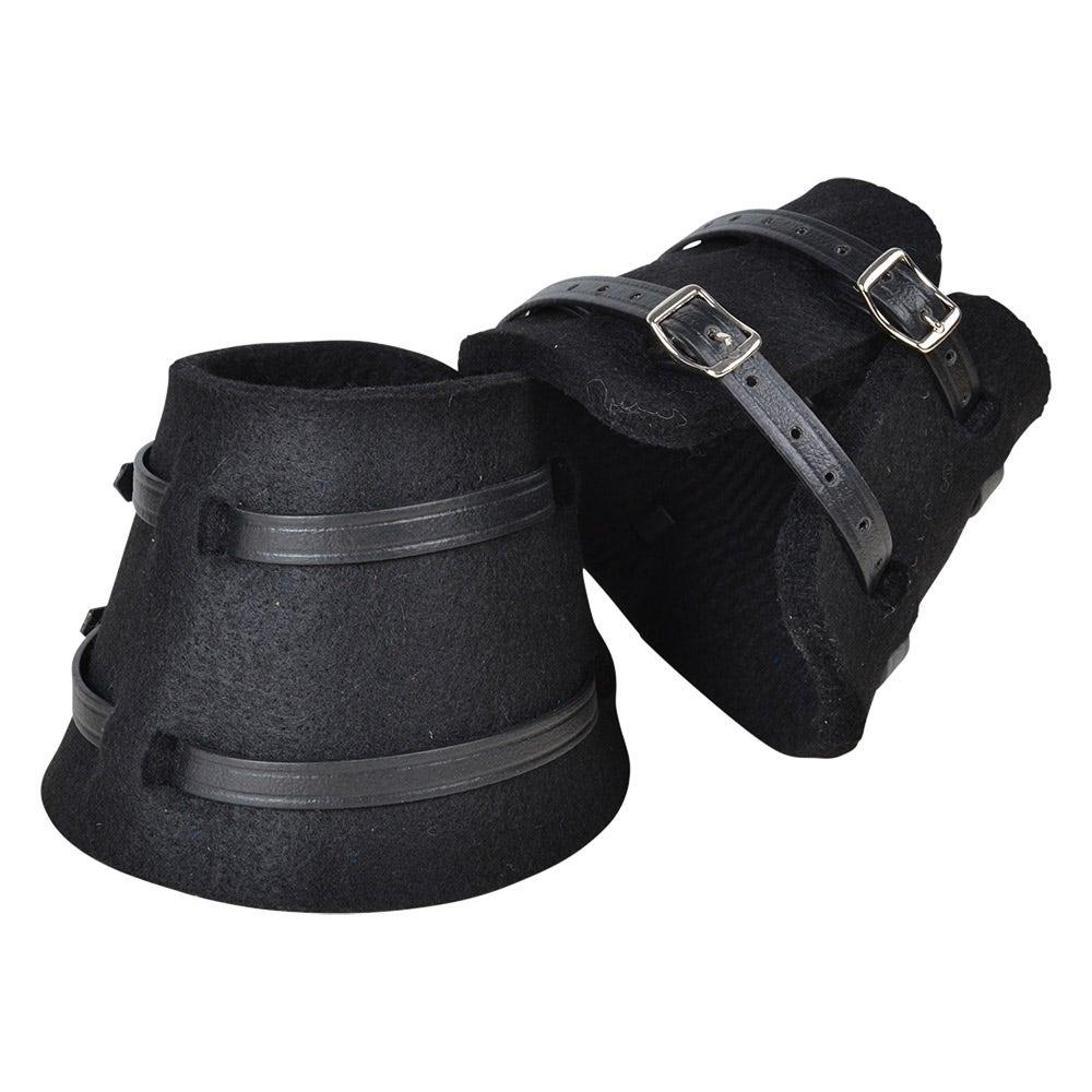 Boots I Filt Svart L