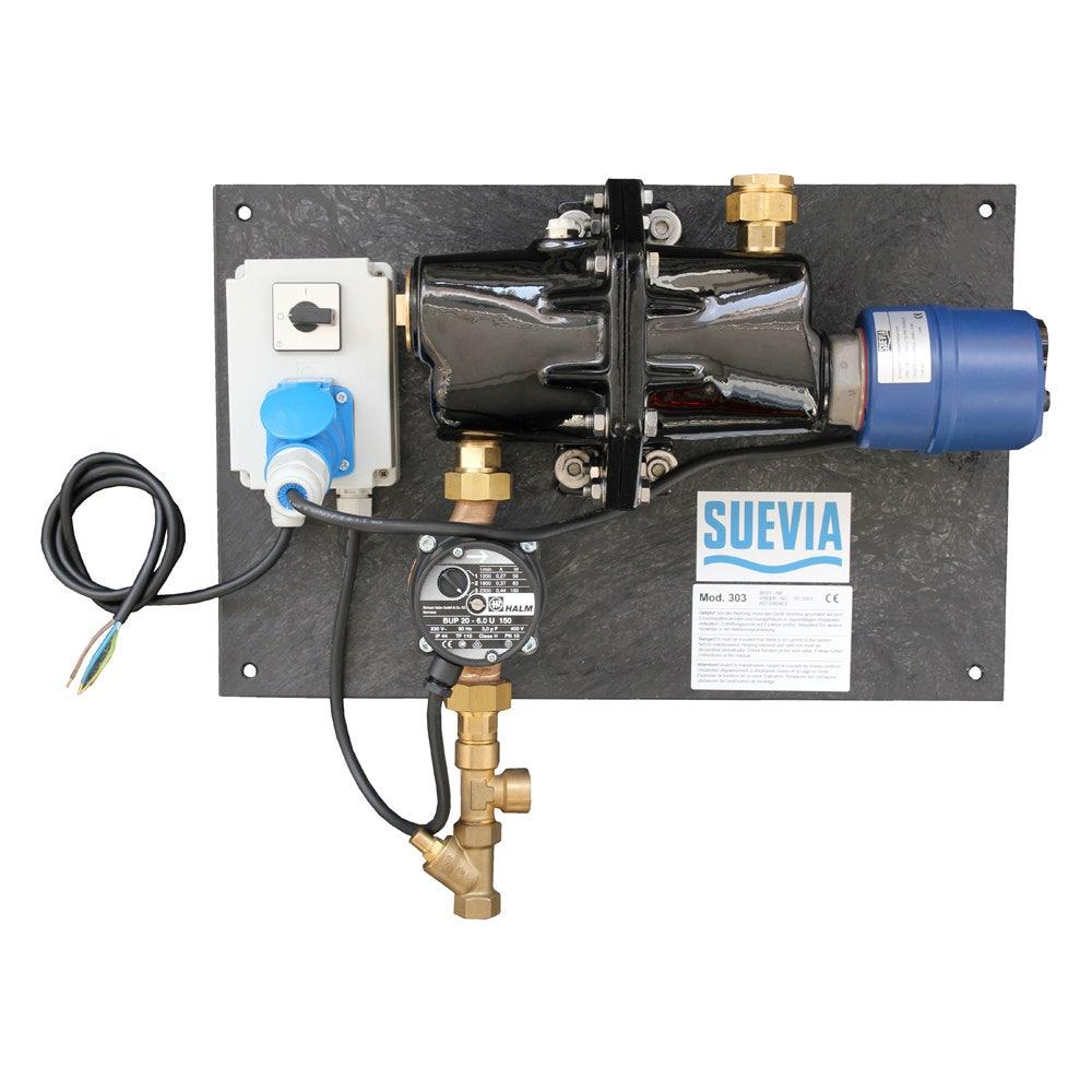 Cirkulerande Vattensystem Suevia 300 400v , 1x3000w