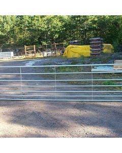 Vägstolpe med gångjärn till väggrind Stop Bala Agri