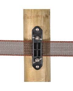 Gallagher TurboLine Hörn/spännisolator med vingmutter 5 st/frp