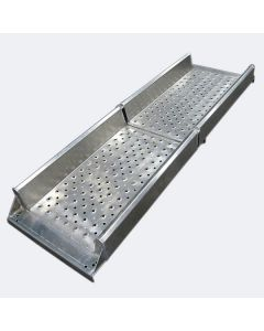 Plattform Gallagher Aluminium 2-delad för nötkreatur