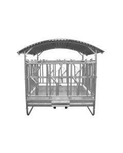 Foderhäck Willab Med tak Låsbara grindar 12 ätplatser