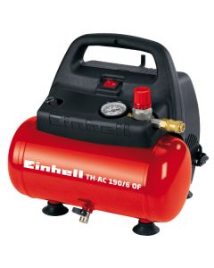 Kompressor Einhell TH-AC 190/ 6 OF 6 liters tank, oljefri