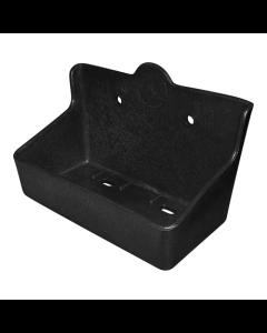 Saltstenshållare  Bandini Box Plast För 2 kg sten Svart